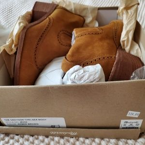 Madewell Shoes - Madewell Grayson chelsea boots 8 amber brown